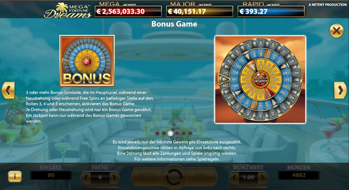 Mega fortune dreams tips 154877