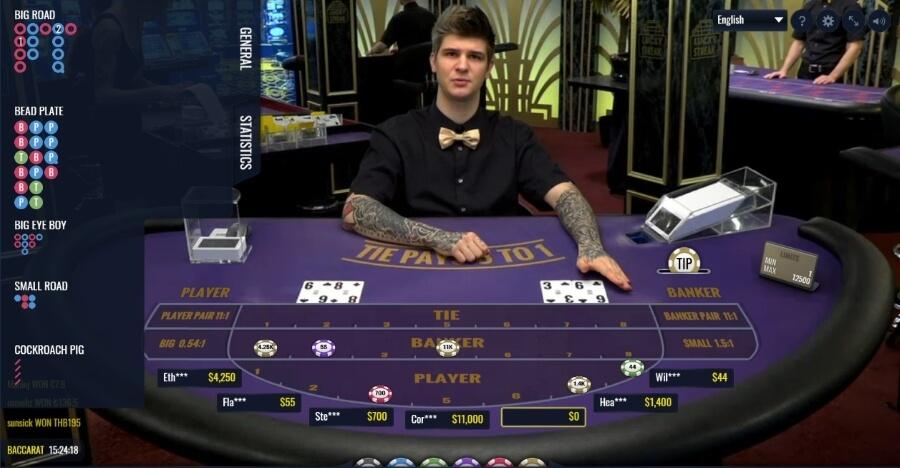 Spel hemma baccarat casino 488639