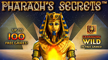 Pharaoh Secret slot finns 122520