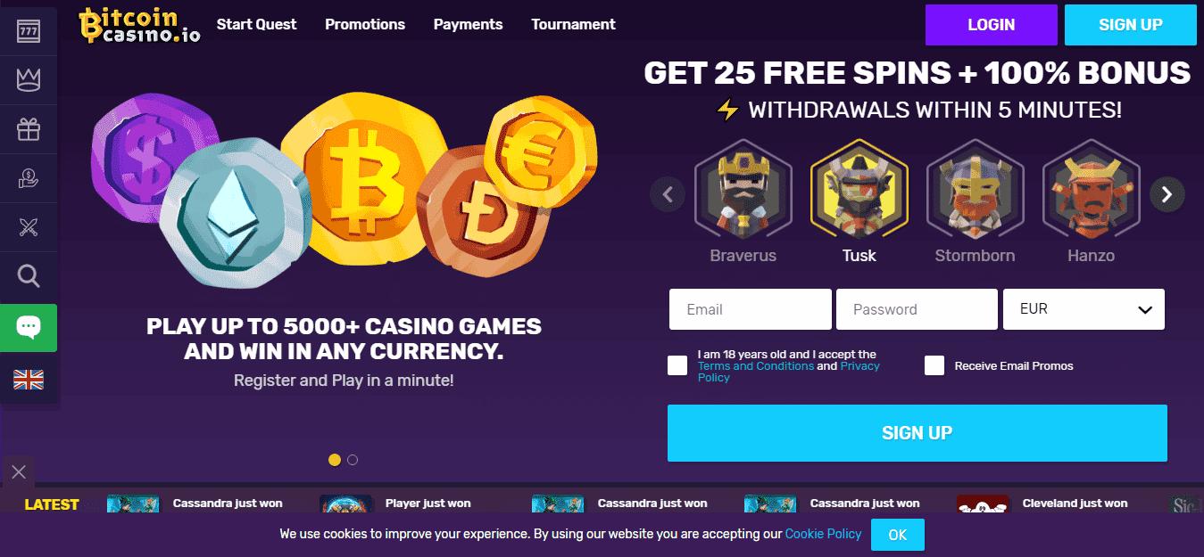 Bitcoin casinon online Bonus 172087