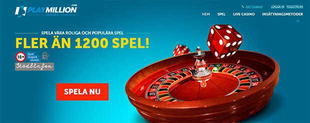 Live roulette på Svenska 122512