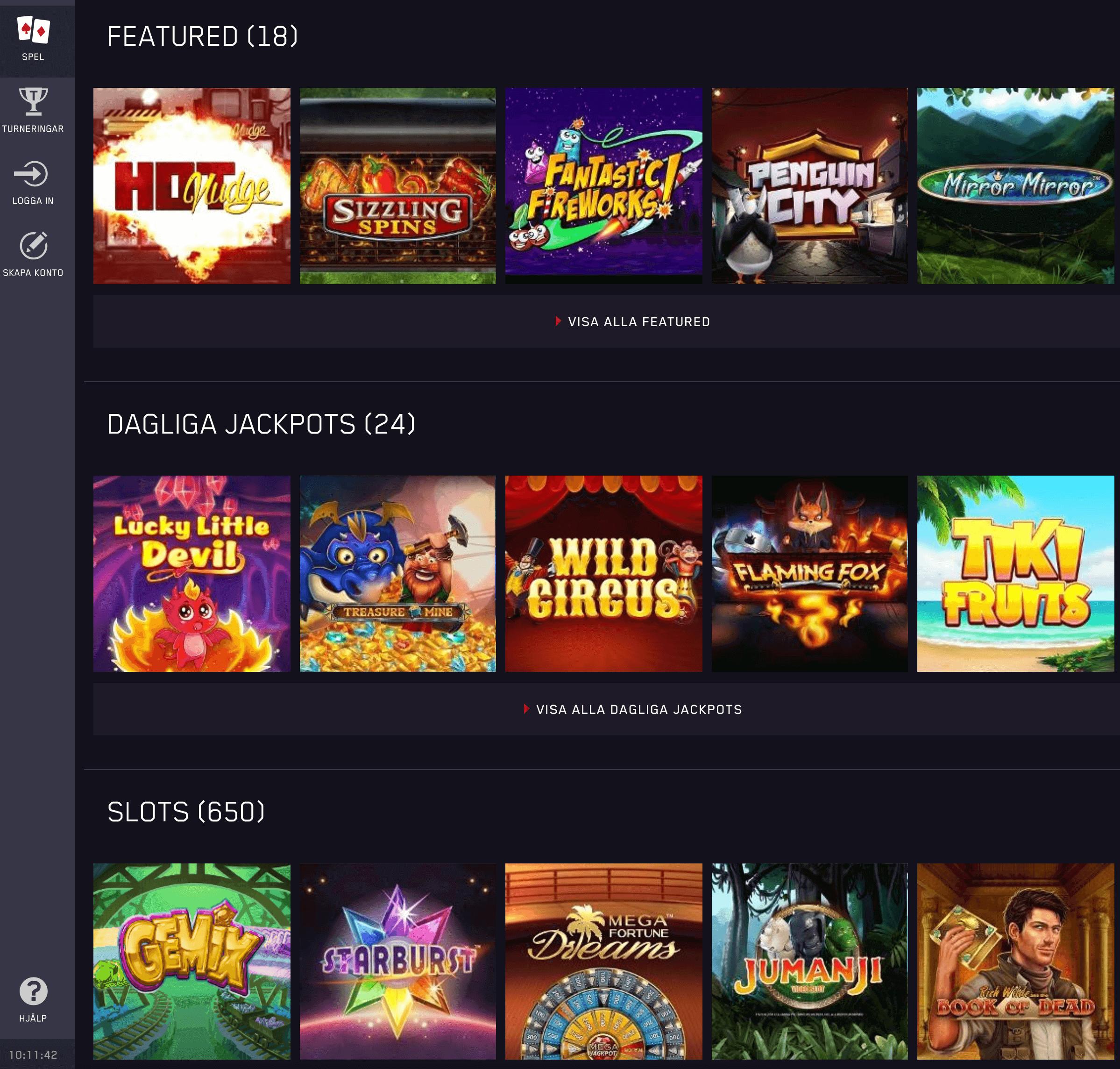 Spela casino 118308