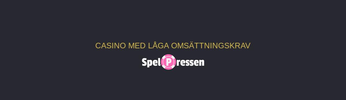 Svenska casino med låga 483481