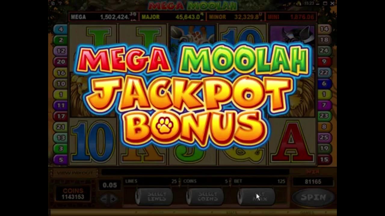 Mega moolah jackpot 2021 636014