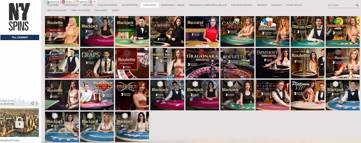 Live casino 538032