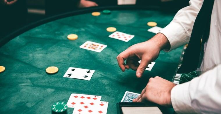 Poker chips blackjack 266368