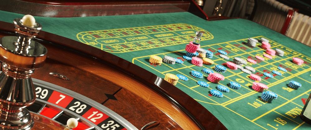 Roulette grön spelautomater 518688