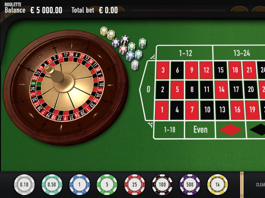 Roulette wheel 180240